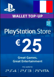 PlayStation Network Card (PSN) €25 (France)