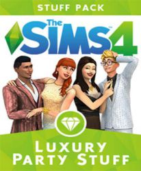New release: The Sims 4: Luxury Party Stuff, directe levering & laagste prijs garantie!