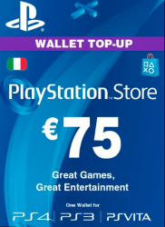 Playstation Network Card (PSN) ?€75 (Italy)
