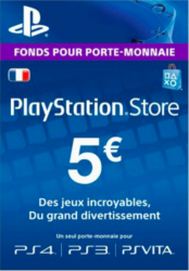 PlayStation Network Card (PSN) €5 (France)