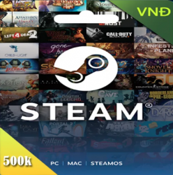 Steam Gift Card 500000 VND