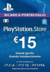 Playstation Network Card (PSN) ?€15 (Italy)