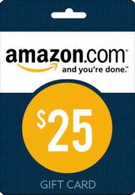 Amazon $25 Gift Card (USA)