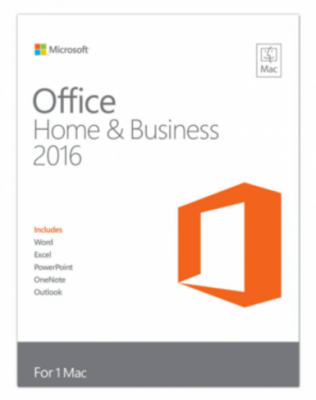 Microsoft Office 2016 Home and Business MAC OS